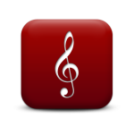 129134-simple-red-square-icon-media-music-cleft