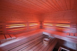 RGB podsvícení opěrek