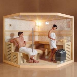finská sauna 1101 hl. foto