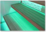 Podsvícení saunových lavic