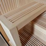 Saunová lavička