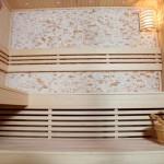 Saunová lavice