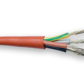 Saunový silikonový kabel