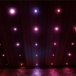 Saunové LED RGB stropní diody