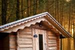 Srubová finská sauna- Saunadream