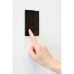 Harvia_Xenio_CX170_control_panel_installed2