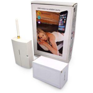 GSM modul na ovládání sauny přes telefon SMS