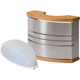 Saunové stínítko nerez+ saunové osvětlení