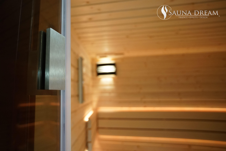 Samozavírací kování dveří z ušlechtilé nerezové oceli