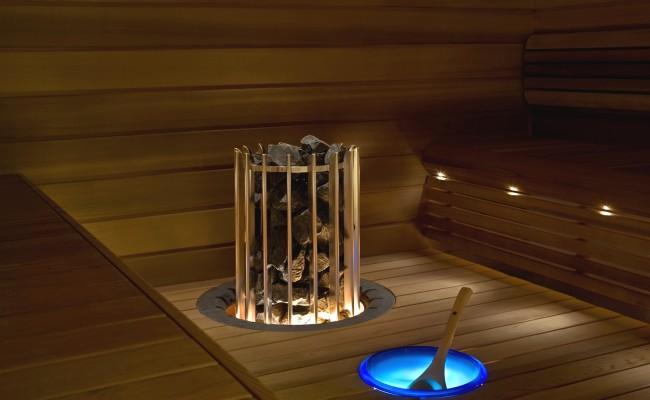 Exclusive vnitřní sauna