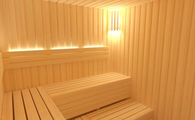 Vniřní sauna na míru IDEAL