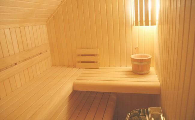 Interiér sauna na míru ideal
