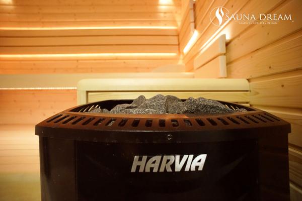 Saunová kamna Harvia Sound black 600x400