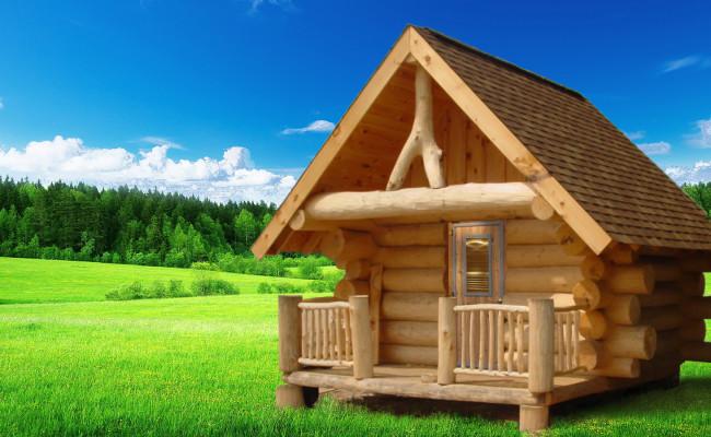 Srubová finská sauna 2