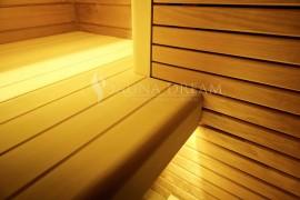 Detail napojení lavice