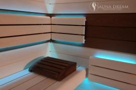 Finská sauna MODERN- interier