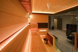 Interiér saunové kanina Modern