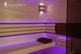 Interiér sauny MODERN