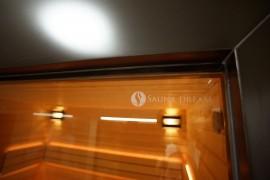Kalené saunové sklo