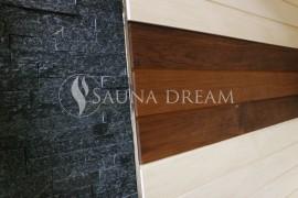 Kamenná stěna sauny