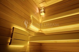 Podsvícené opěrky Therapy Saunadream