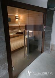 Sauna na míru Saunadream - výbava Comfort