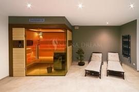 Saunová kabina Modern rohová