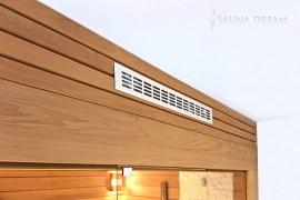 Ventilace saunové kabiny Saunadream