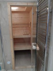 vchod finské sauny